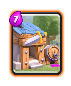 Clash Royale Cards in Arenas - Barbarian Hut