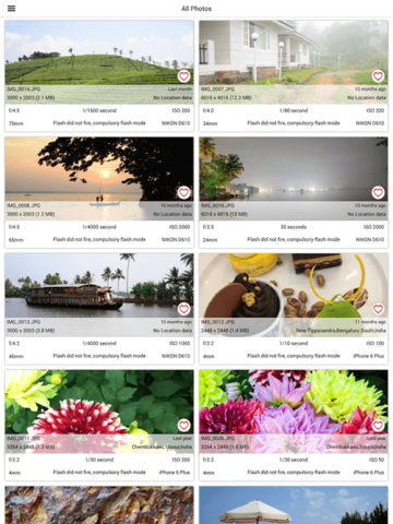 Exif Viewer for iOS
