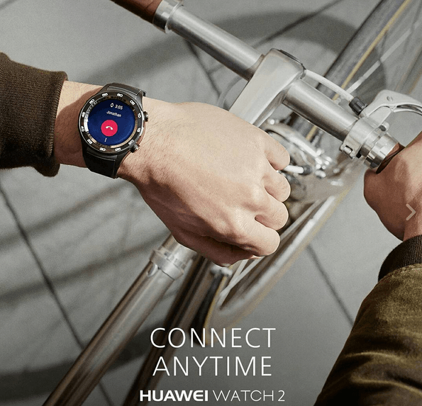 Huawei Watch 2 with LTE connectivity