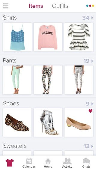 apps to help you organize your wardrobe - Stylitcis