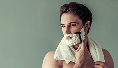 shaving for sensitive skin
