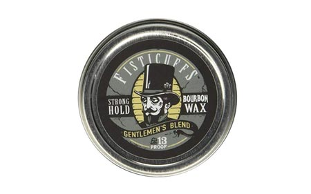 Fisticuffs Strong Hold Mustache Wax Gentlemen's Blend 3.9