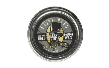 Fisticuffs Strong Hold Mustache Wax Gentlemen's Blend 3.9