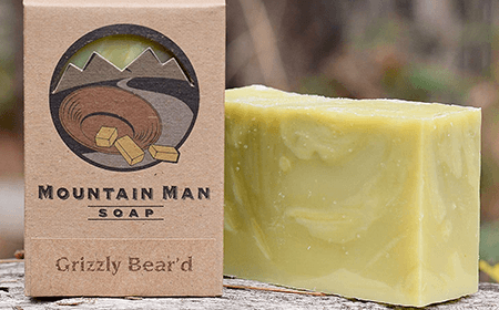 Mountain Man Soap Co. Grizzly Bear'd Soap