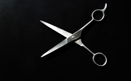 scissor for beard trimming