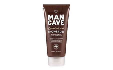 ManCave Natural Cedarwood Shower Gel