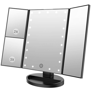 makeup mirror with bright light