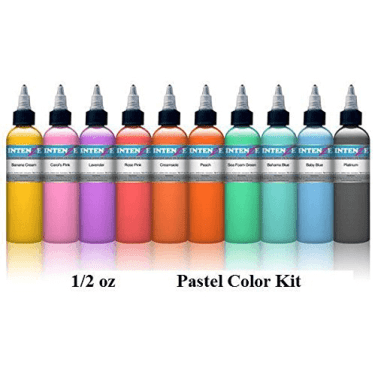 cheap tattoo inks set