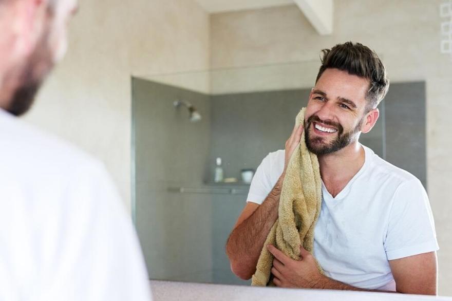 Dry your beard