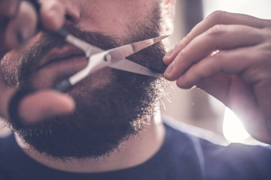 How to Trim Your Beard With Scissors