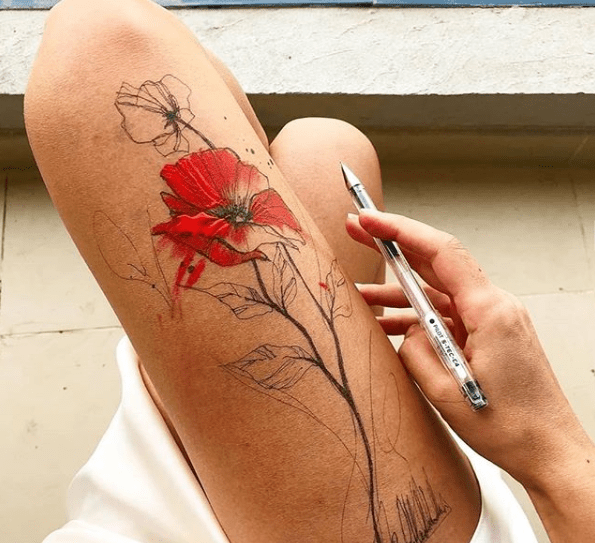 How To Make Tattoo Ink With Pen Ink