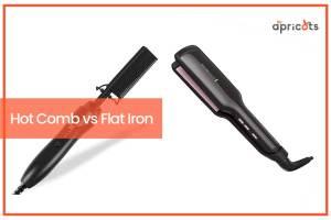 Hot Comb vs Flat Iron