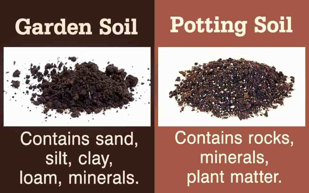 Garden Soil and Potting Soil