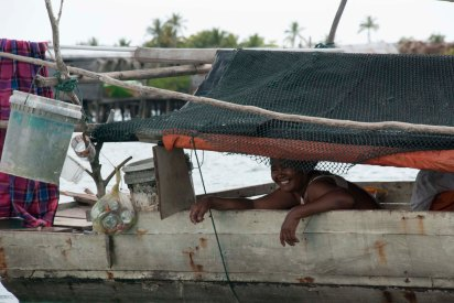 Sama Dilaut Houseboat, Omothel, Malaysia