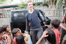 Arrival in the Sama DIlaut Community of Matina Aplaya, Gulf of Davao, Mindanao, Philippines