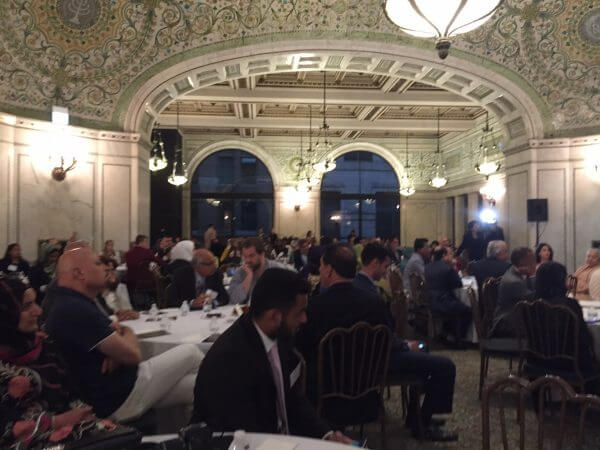 Attendees at Iftar dinner at the Chicago Cultural Center Tuesday June 28, 2016 hosted by Chicago Mayor Rahm Emanuel