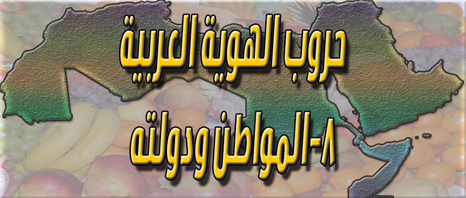 حروب الهوية العربية: ٨- المواطن ودولته
