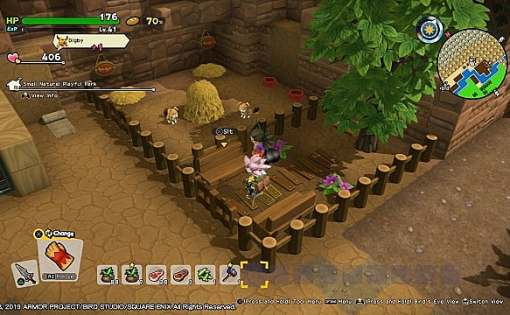 Dragon Quest Builders 2 - Cómo construir el zoológico de mascotas