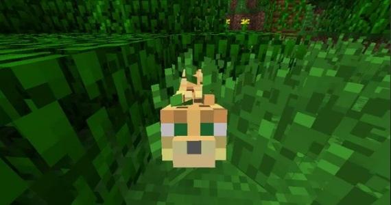 Minecraft - Cómo domesticar un Leopardo (ocelote) (1.14) 6