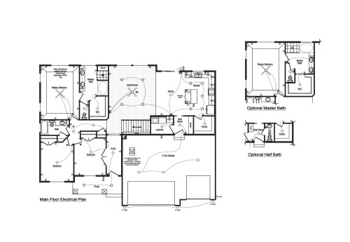 small resolution of 1 floor plan with electrical layout