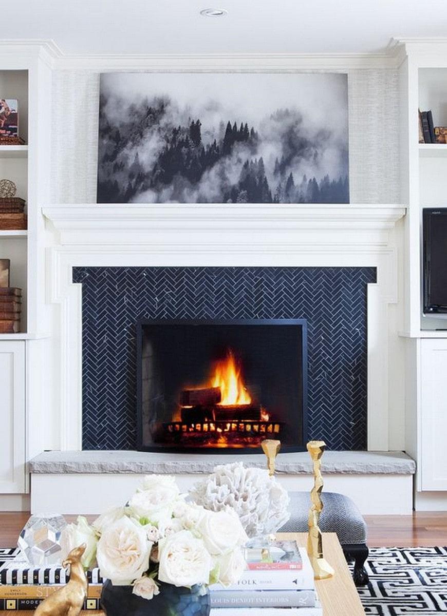 10 modern fireplace tile ideas for 2021