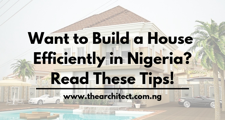 Building a house in Nigeria