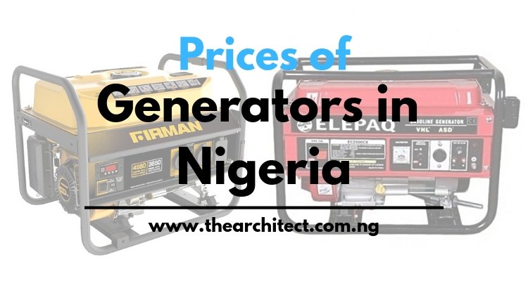 Prices of Generators in Nigeria