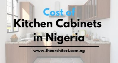 Price of kitchen cabinets in Nigeria