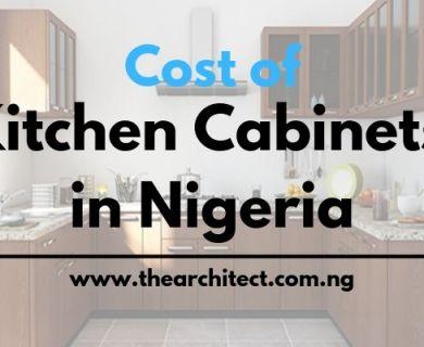 Price of kitchen cabinets in Nigeria