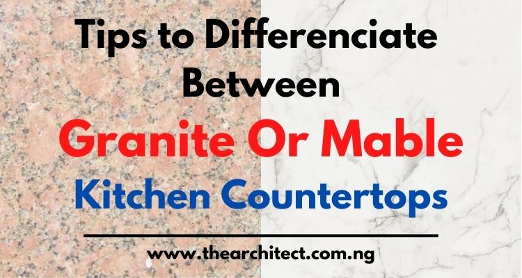 Difference Between Granite And Marble Kitchen Countertops