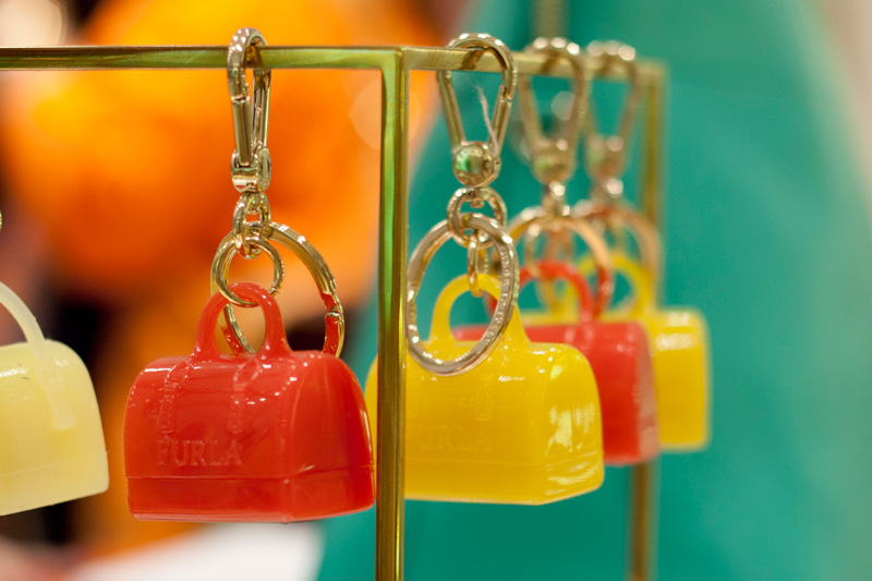 Furla Candy Bag Keychains