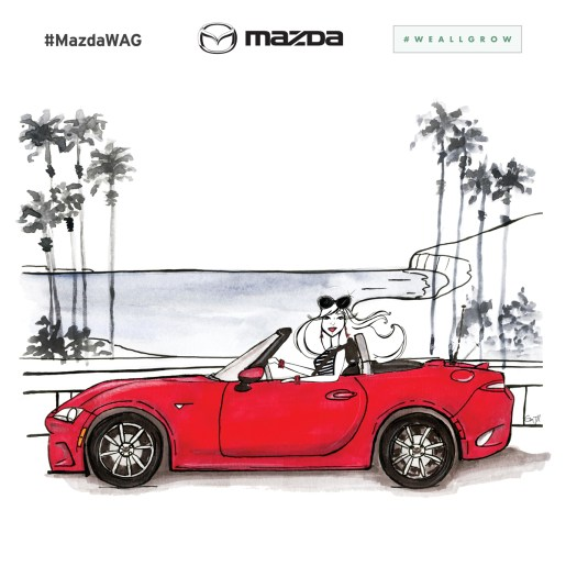 Mazda x #WeAllGrow