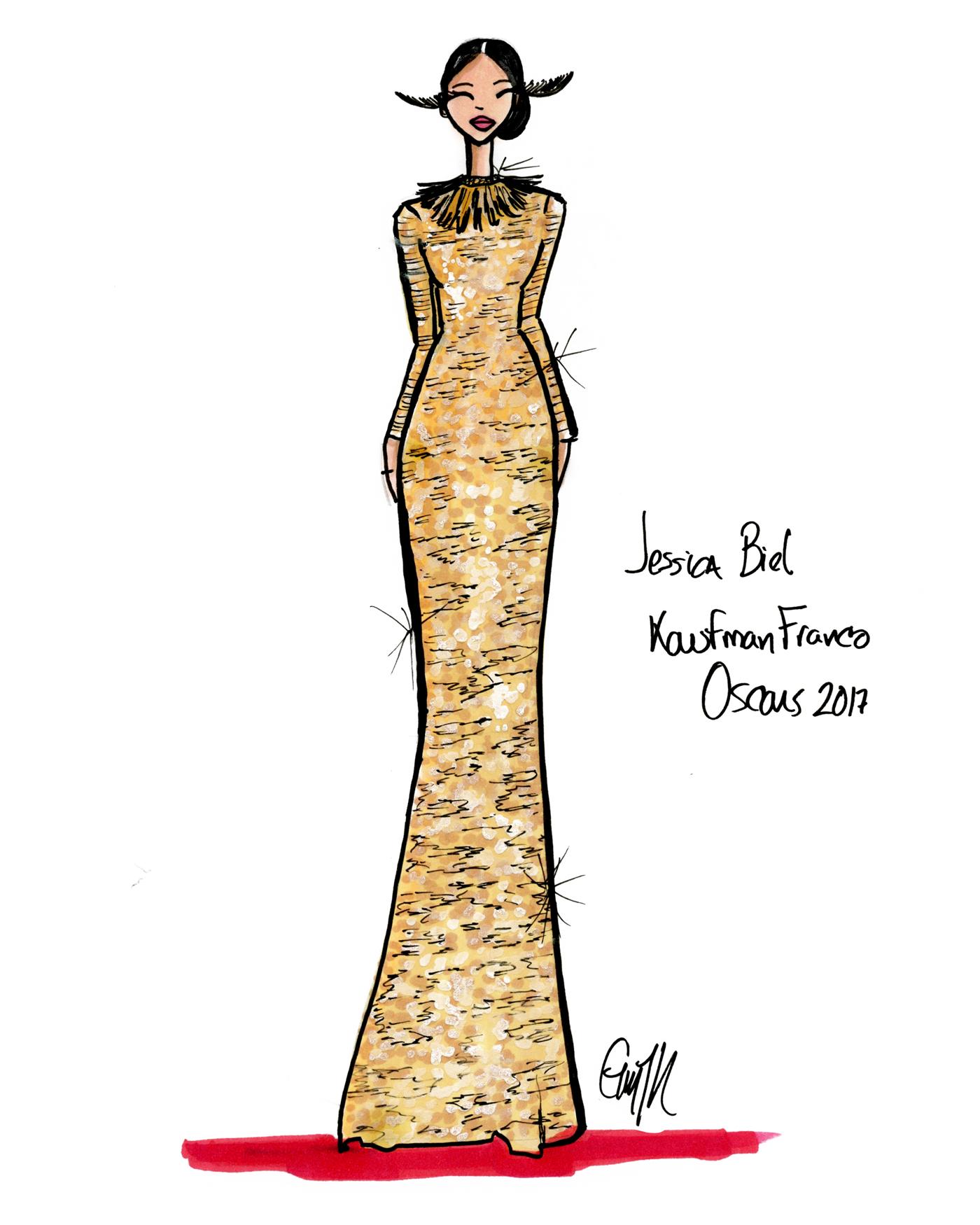 TAOS-Jessica-Biel-Kaufman-Franco-Oscars-illustration