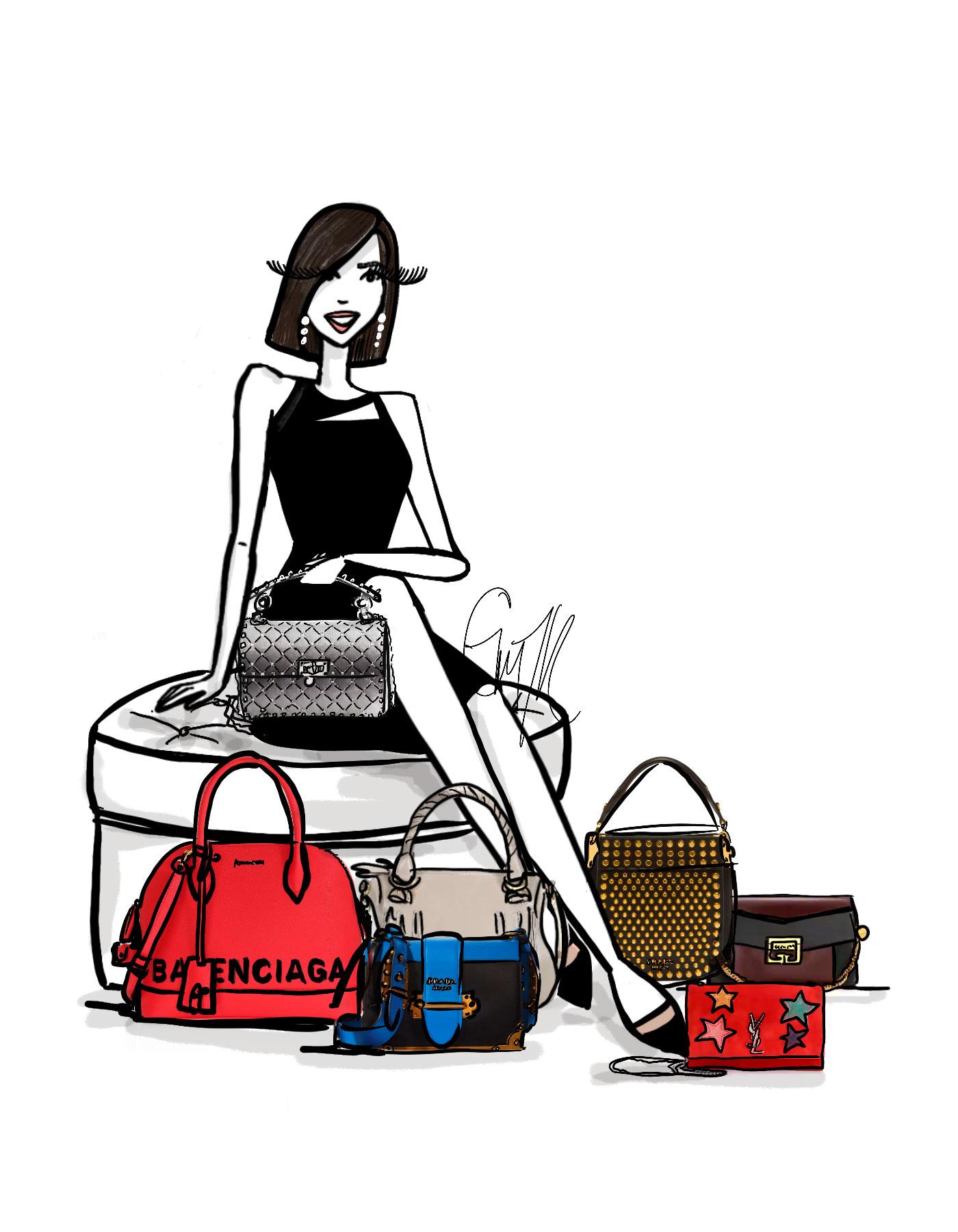 Saks Iconic handbags