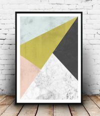 50+ Wall Art Ideas  Make A Modern Statement With Abstract ...