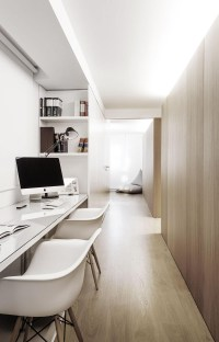 50+ Home Office Space Design Ideas For Two People - The ...