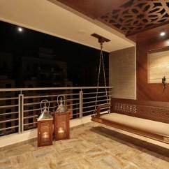 Swing Chair Hyderabad Office Covers Ebay 3 Bhk Flat Interiors The Oak Woods Vadodara Studio7
