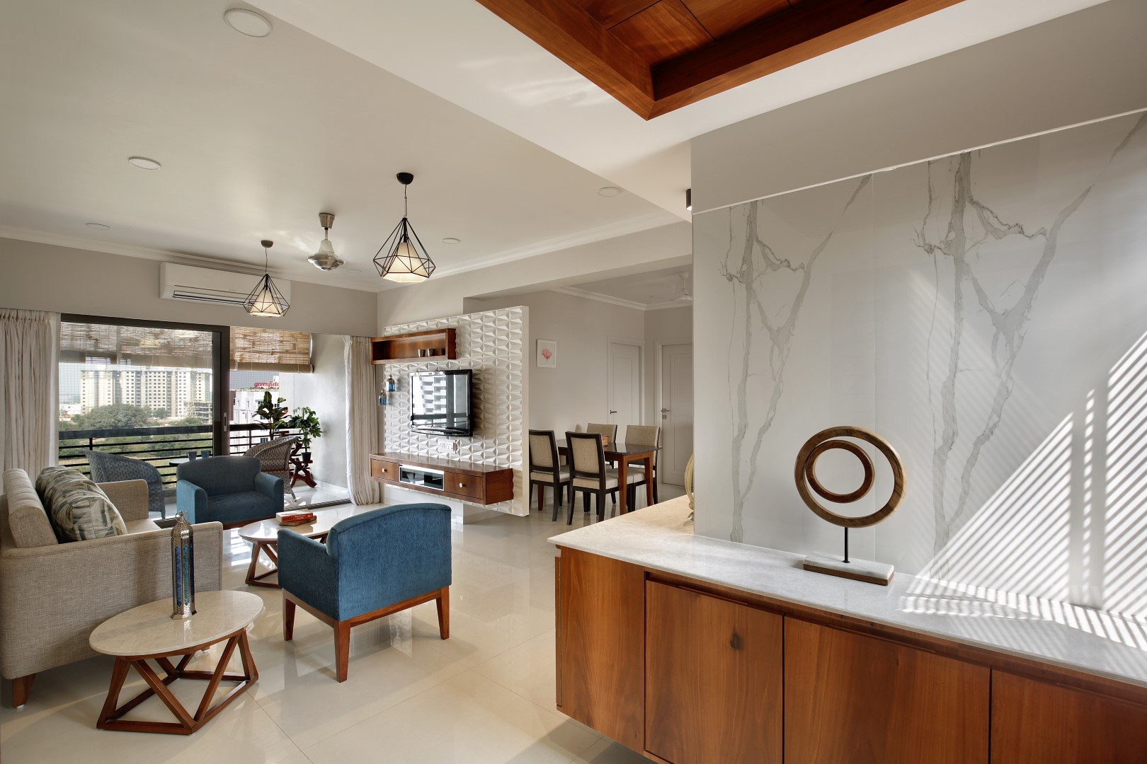2 Bhk Interior Design Studio 7 Designs The Architects Diary
