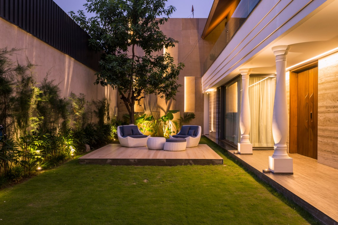 Contemporary design with elements of Indian Traditional ...
