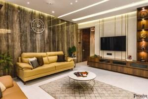 Art Deco Apartment Interior Design   Prayog Design Studio ...