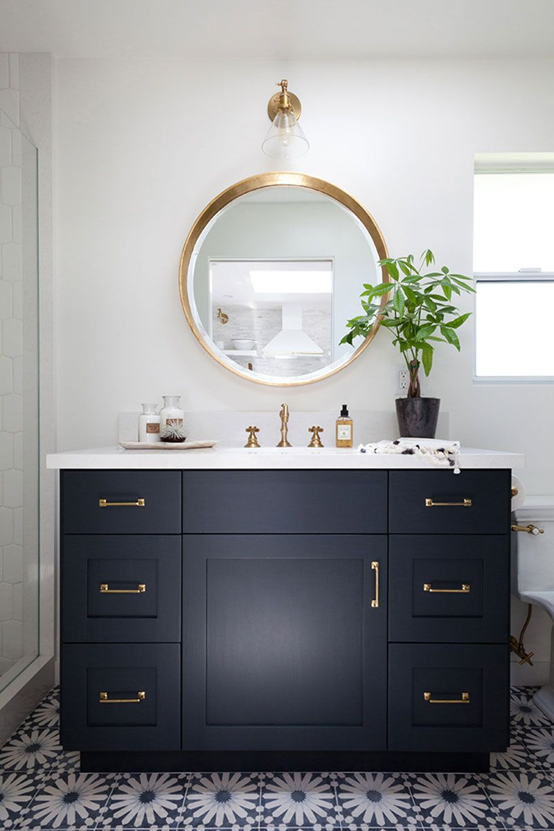 30 Most Navy Blue Bathroom Vanities You Shouldn T Miss The Architecture Designs