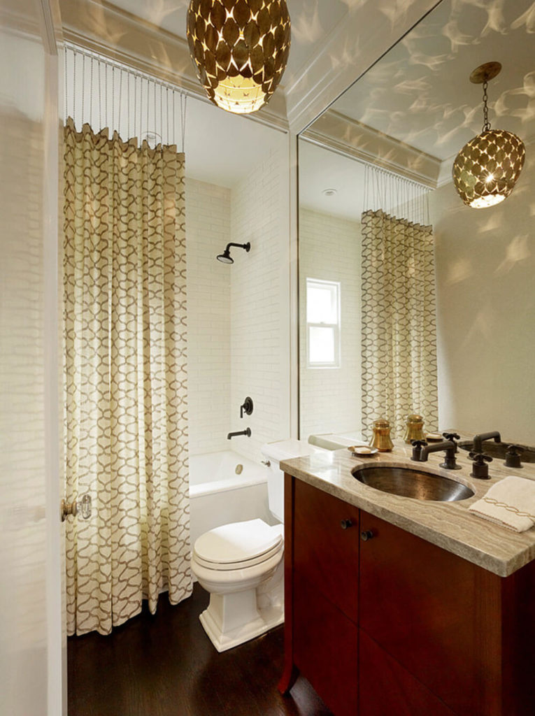 28 designer shower curtains ideas for