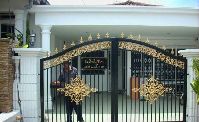 25 Simple Gate Design For Small House Updated 2020