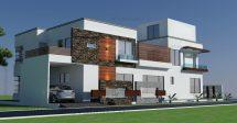 3d Elevation Design House - Architecture