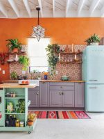Colorful Boho Chic Kitchen Designs For Modern Kitchen ...