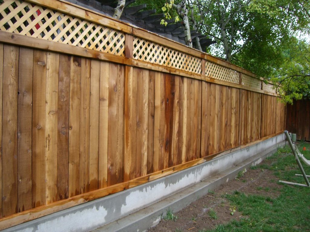 25 Privacy Fence Ideas For Backyard  Modern Fence Designs
