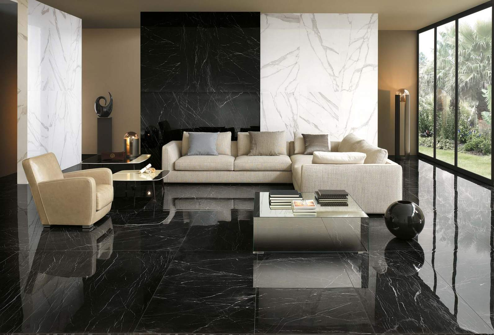 The Best Luxurious Marble Wall for Living Room   The Architecture Designs