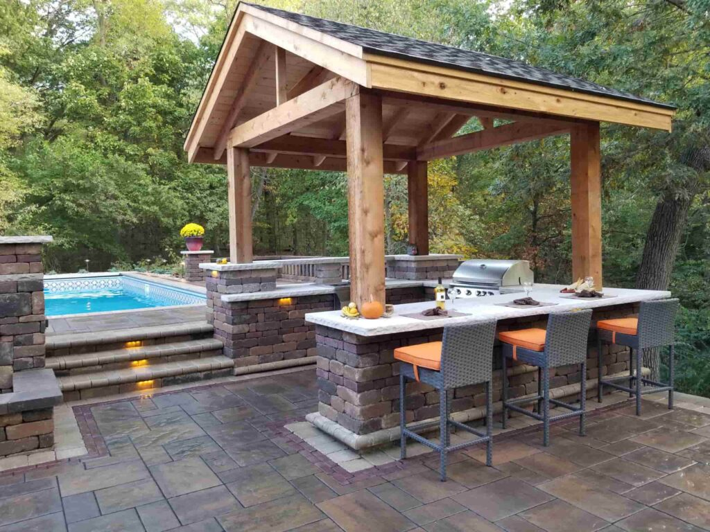 small outdoor bar designs that you can