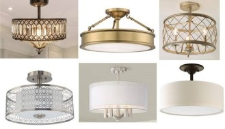 ceiling lights - semi flush lights