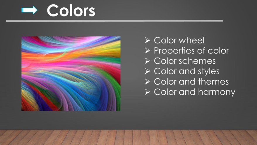 Guides to Interior Finishes-Colors